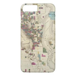 Coque iPhone 8 Plus/7 Plus Ville de Seattle et d'environs