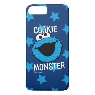 Coque iPhone 8 Plus/7 Plus Visage de motif de monstre de biscuit