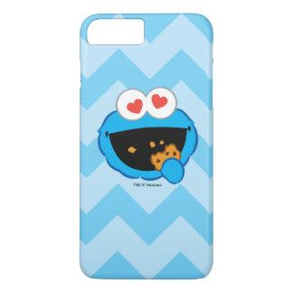 Coque iPhone 8 Plus/7 Plus Visage de sourire de biscuit avec les yeux en