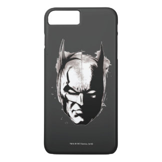 Coque iPhone 8 Plus/7 Plus Visage dessiné par Batman