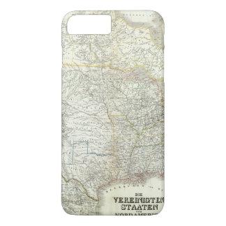 Coque iPhone 8 Plus/7 Plus Von Amérique du Nord - nord USA de Vereinigten