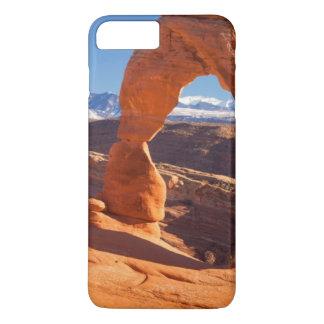 Coque iPhone 8 Plus/7 Plus Voûte sensible avec les montagnes de Lasalle