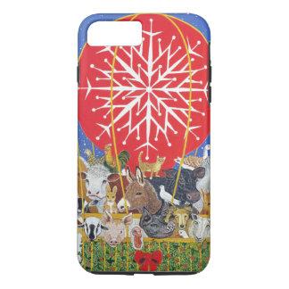 Coque iPhone 8 Plus/7 Plus Voyage de Noël