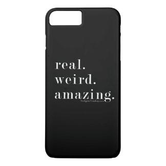 Coque iPhone 8 Plus/7 Plus vrai. étrange. stupéfier. cas plus de l'iPhone 7