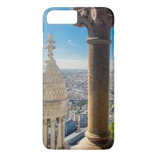 Coque iPhone 8 Plus/7 Plus Vue à partir du dessus de Basilique du Sacre Coeur