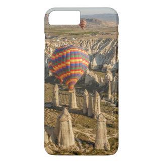 Coque iPhone 8 Plus/7 Plus Vue aérienne des ballons à air chauds, Cappadocia