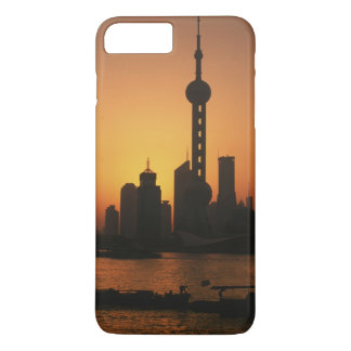 Coque iPhone 8 Plus/7 Plus Vue de l'ASIE, Chine, Changhaï de la perle