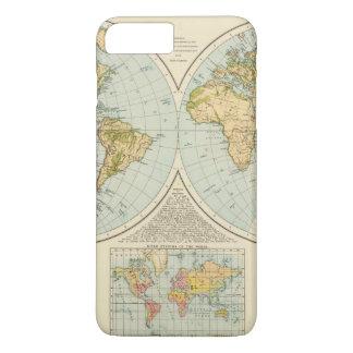 Coque iPhone 8 Plus/7 Plus W, hémisphères d'E