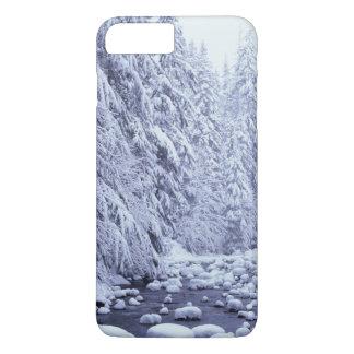 Coque iPhone 8 Plus/7 Plus WA, réserve forestière de Boulanger-Snoqualmie de