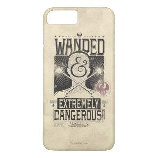 Coque iPhone 8 Plus/7 Plus Wanded et affiche voulue extrêmement dangereuse -