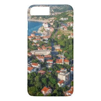 Coque iPhone 8 Plus/7 Plus Zonguldak, antenne, côte de la Mer Noire de la