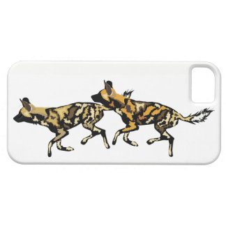 Coque iphone africain de chiens sauvages coques iPhone 5 Case-Mate