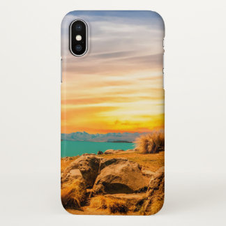 Coque iphone américain de scène de terre