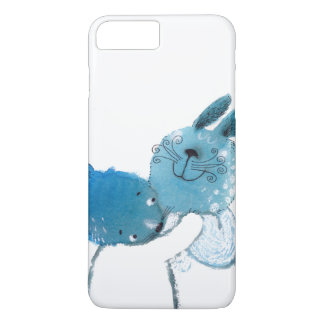 coque iphone assez bleu de lapins