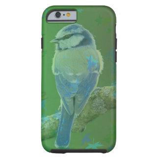 Coque iphone assez bleu de vert d'oiseau coque iPhone 6 tough