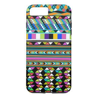Coque iphone aztèque de motif d'abrégé sur les coque iPhone 7 plus