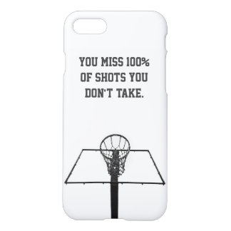 Coque iphone/basket-ball minimalistes inspiré