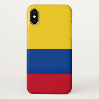 Coque iphone brillant avec le drapeau de la