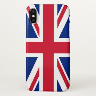Coque iphone brillant avec le drapeau du