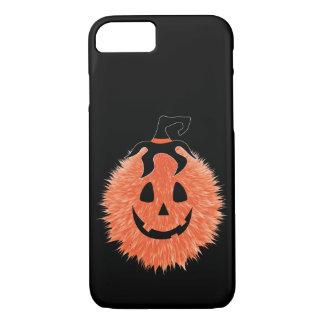 Coque iphone brouillé de citrouille de Halloween