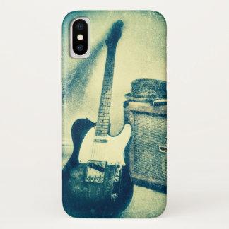 coque iphone classique de guitare de petit pain de