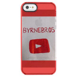 Coque iPhone Clear SE/5/5s caisse rouge de l'iphone 5