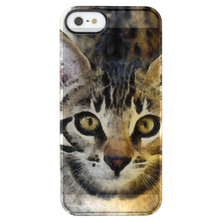 Coque iPhone Clear SE/5/5s Le Bengale mignon Kitty
