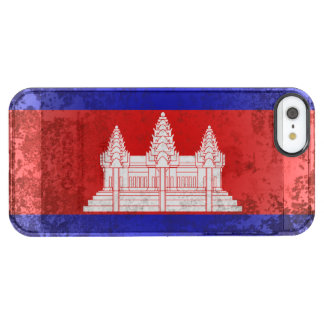 Coque iPhone Clear SE/5/5s Le Cambodge