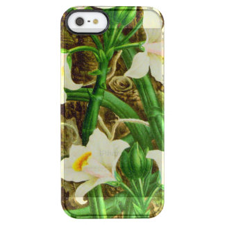 Coque iPhone Clear SE/5/5s Orchidée de vanille du Madagascar