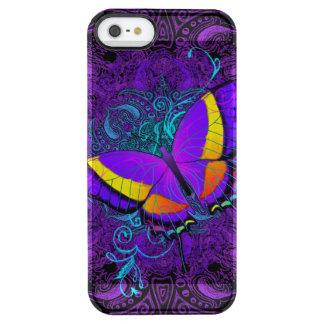 Coque iPhone Clear SE/5/5s Plaisir de papillon