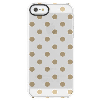 Coque iPhone Clear SE/5/5s Point de polka d'or
