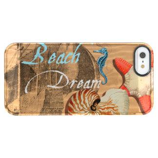 Coque iPhone Clear SE/5/5s Rêve de plage