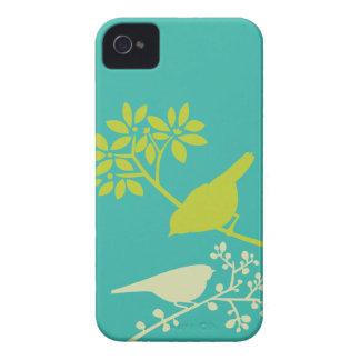 Coque iphone coloré de coutume d oiseaux coques iPhone 4