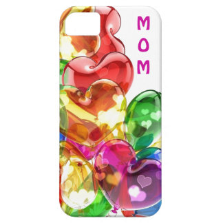 Coque iphone coloré du coeur de la maman coques iPhone 5