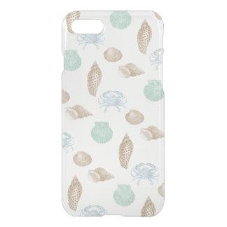 Coque iphone côtier de motif de coquillages