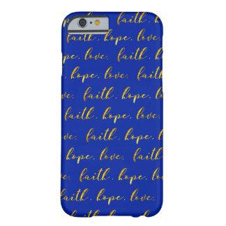 Coque iphone d'amour d'espoir de foi