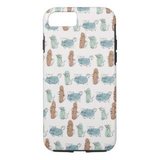 Coque iphone d'amoureux des chats