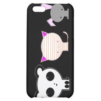 Coque iphone d'animaux de Kawaii