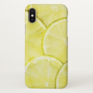 Coque iphone d'art de citron