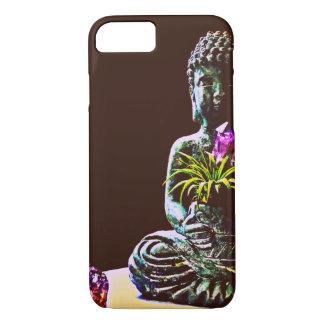 Coque iphone de Bouddha à peine là Apple