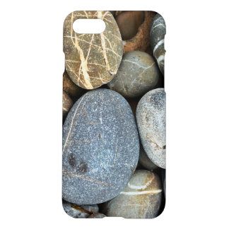 Coque iphone de cailloux de courant