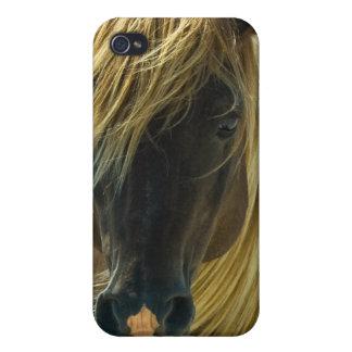 Coque iphone de cheval de mustang coques iPhone 4/4S