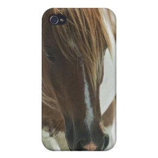 Coque iphone de cheval sauvage de mustang coque iPhone 4/4S