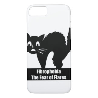 Coque iphone de conscience de fibromyalgie de