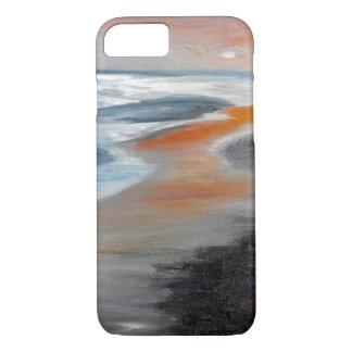 Coque iphone de corail d'abrégé sur plage