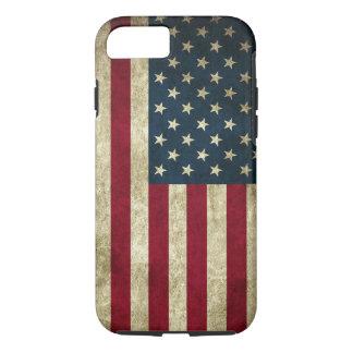 Coque iphone de drapeau américain