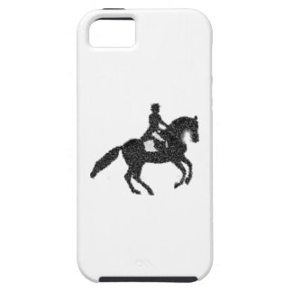 Coque iphone de dressage - cheval et cavalier de