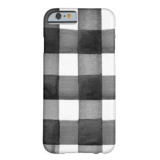 Coque iphone de guingan d'aquarelle