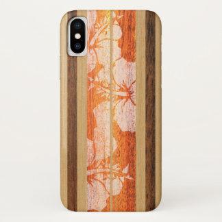 Coque iphone de Hawaïen de planche de surf de