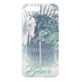 Coque iphone de jardin de licorne